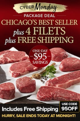 Chicago Steak Company Cyber Monday sb