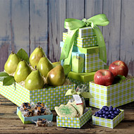 Classic Fruit Tower Real Estate Gift