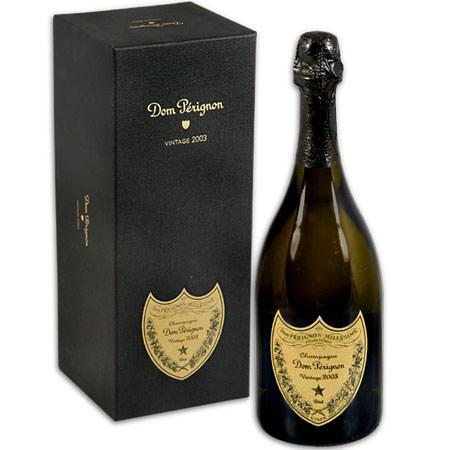 Dom Perignon Champagne in Signature Gift Box