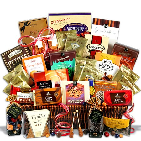 Ultimate Coffee and Chocolates Real Estate Clients Gift Basket