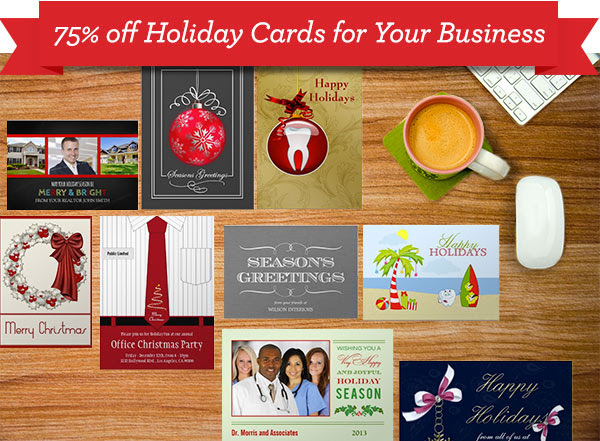 2 Days ONLY - 75% off Realtor Holiday Cards! | Office Christmas ...
