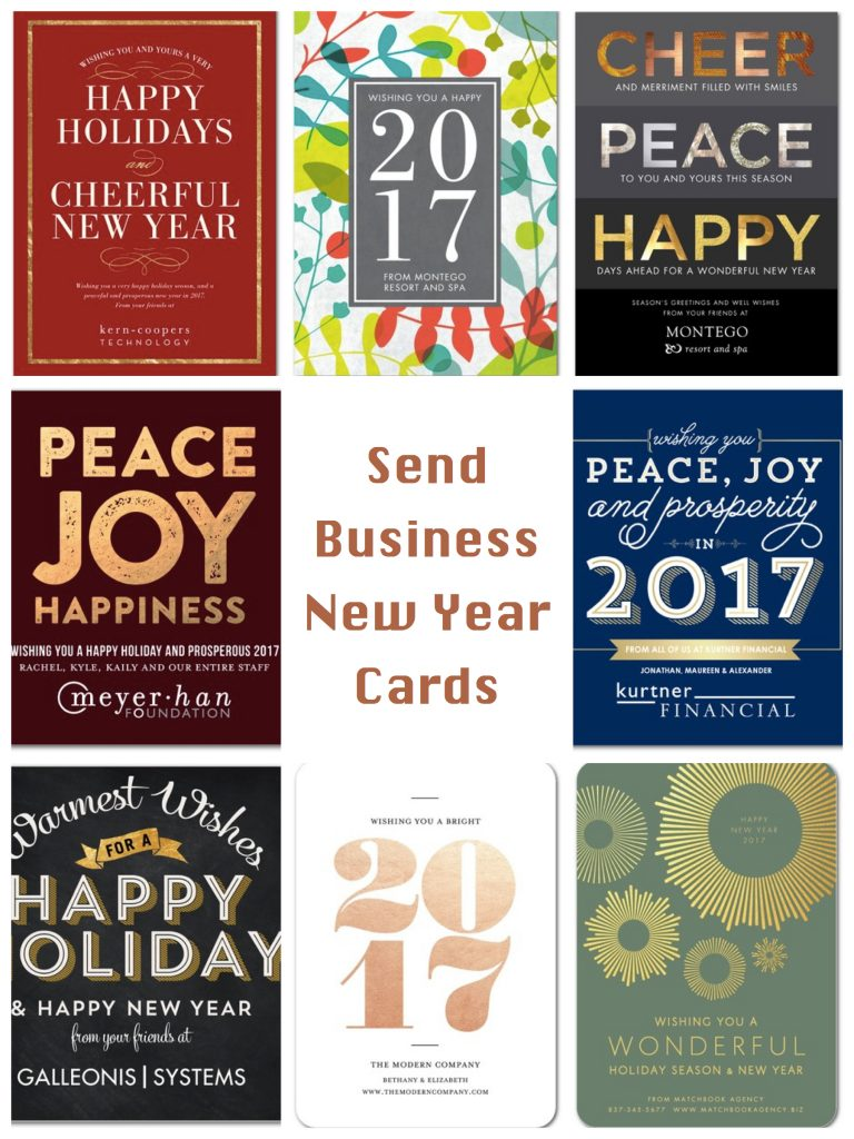 Send Business New Year Cards