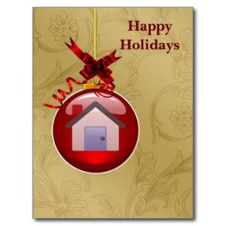 Realtor Ornament Holiday Cards