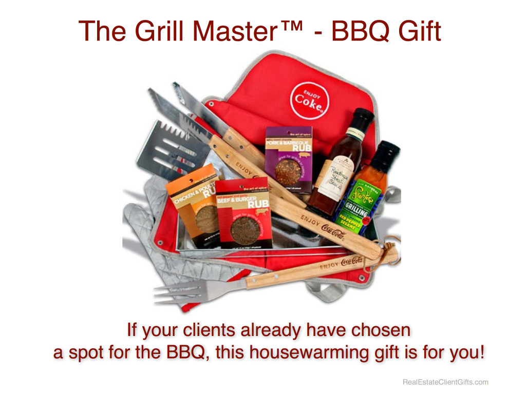 BBQ & Grilling Realtor Housewarming Thank You Gift