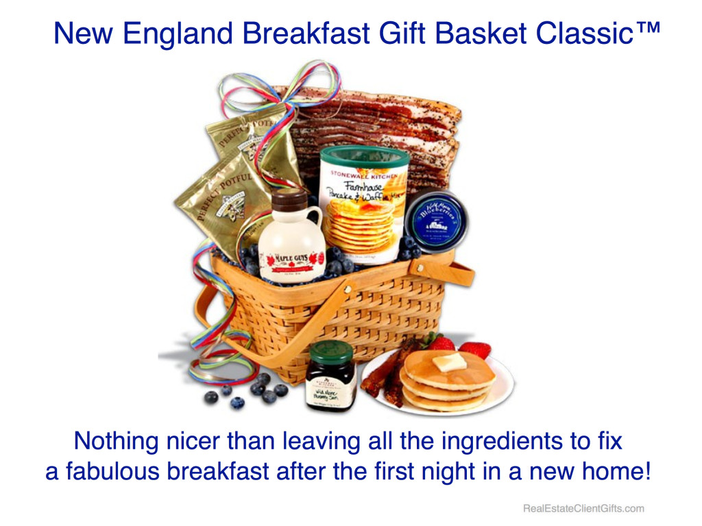 Breakfast Gift Basket Realtor Housewarming Thank You Gift