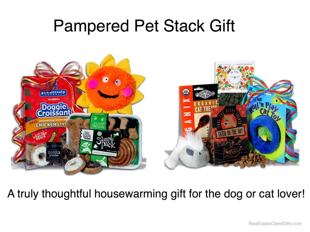 Pampered Pet Realtor Housewarming Thank You Gift