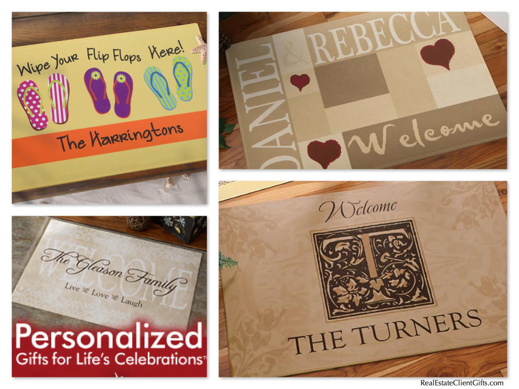 Persoanlized Welcome Mat Housewarming Present