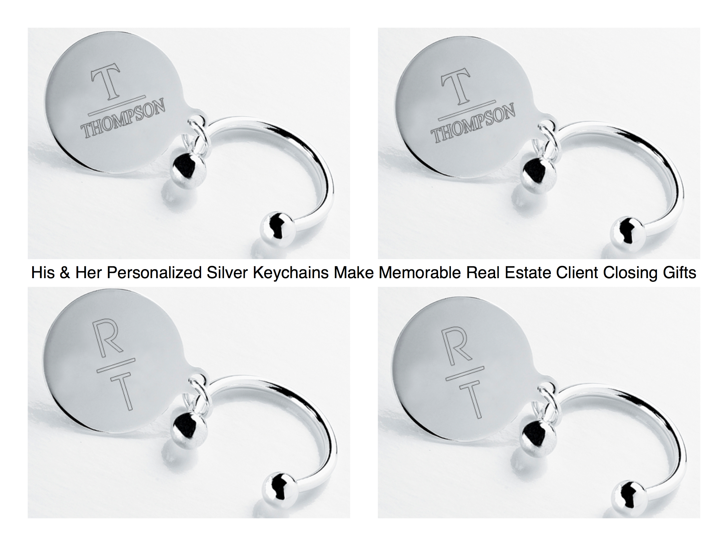 Real Estate Closing Gifts Personalized Keychains