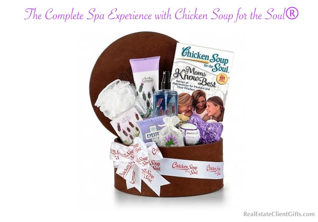 Realtor Closing Gift Spa Basket, Best Spa Gifts