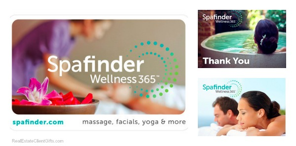 Spafinder Wellness365 Gift Card Realtor Closing Housewarming Gift, Best Spa Gifts