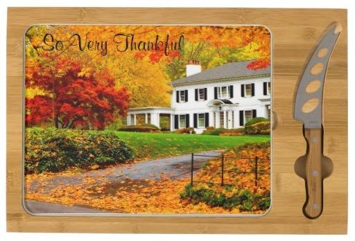 Custom Cheese Boards - Thanksgiving, Seasonal Housewarming Gifts