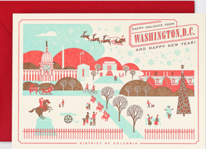Washington D.C. Home Town Holiday Cards