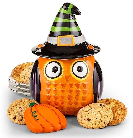 Halloween Owl Cookie Jar Realtor Closing Gift, Best Halloween Gifts