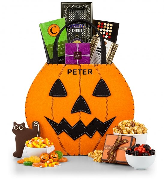 Halloween Treat Tote Realtor Closing Gift, Best Halloween Gifts