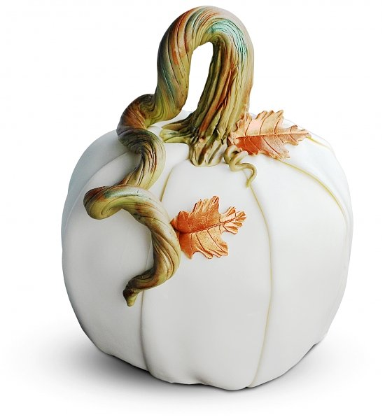 Whimsical White Pumpkin Cheesecake Realtor Closing Gift, Best Halloween Gifts