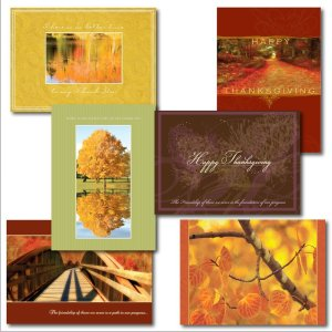 Business Thanksgiving Greeting Card Assortment