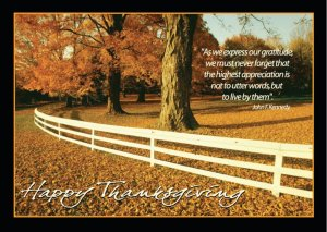 Gratitude Thanksgiving Greeting Card