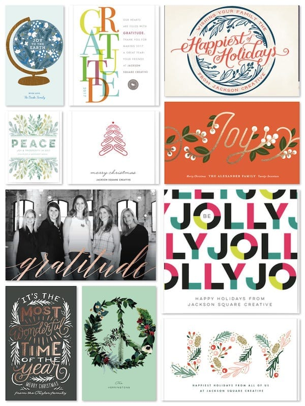 Business and Realtor Holiday Cards