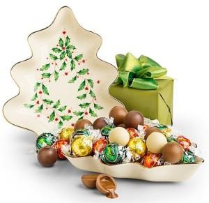 Lenox Holiday Candy Dish