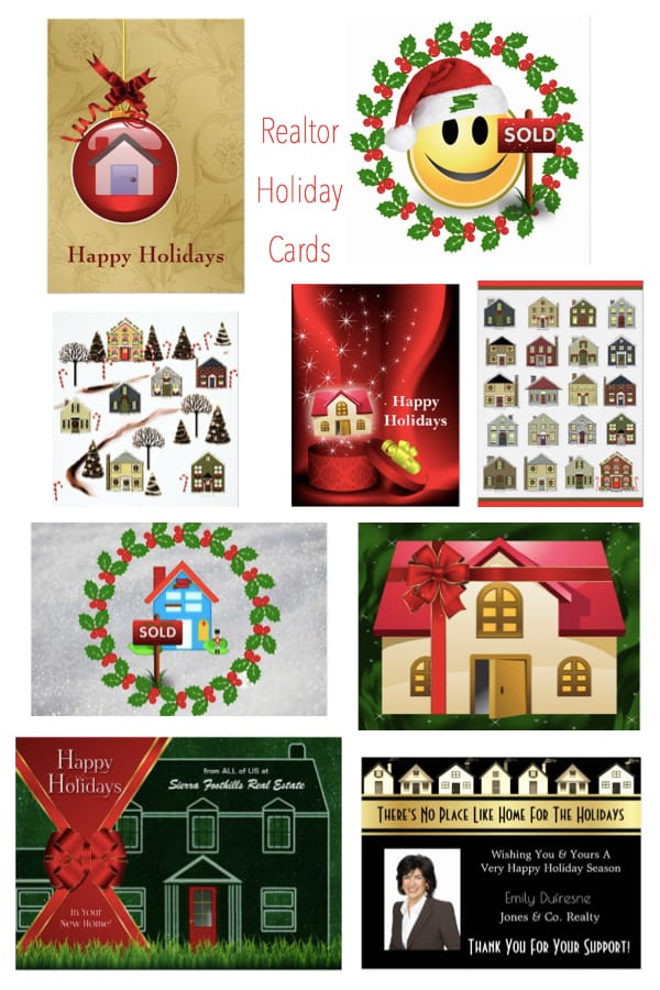 Realtor Holiday Cards