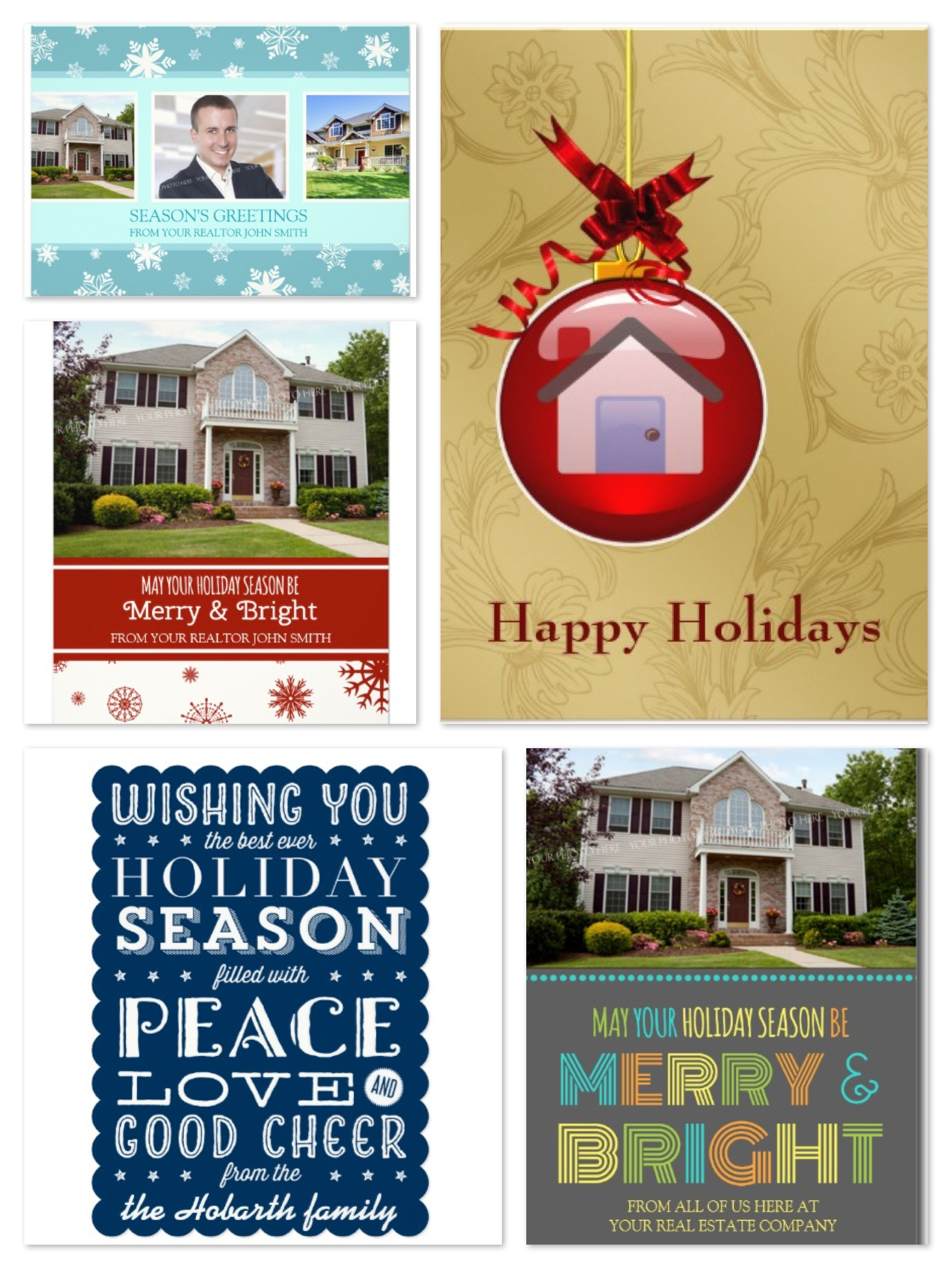 Realtor Holiday Cards Sale! 75% OFF Today Only!