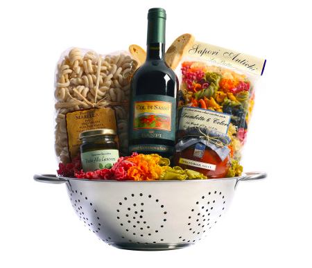 Tuscan Trattoria Italian Wine Gift Basket, Wine and Champagne Gifts