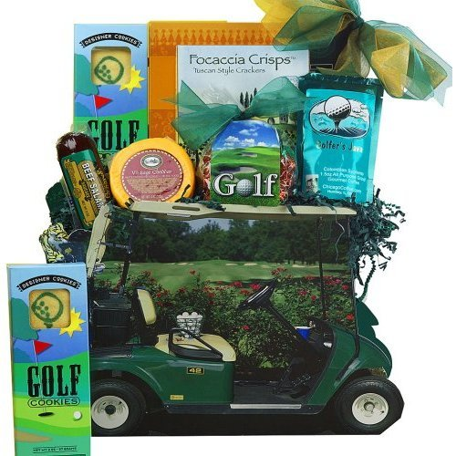 Art of Appreciation Gift Baskets Gone Golfing Golf Cart Gift Bag Tote, Golfer Gifts of Thanks