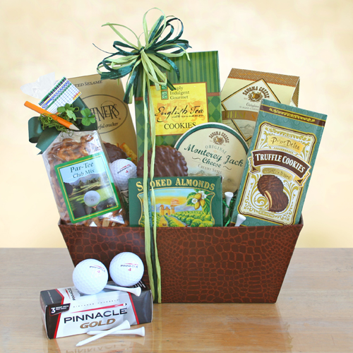 Deluxe Golfer's Gourmet Dream Gift Basket, Golfer Gifts of Thanks