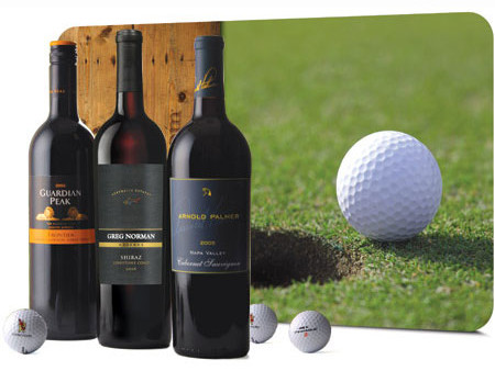 Golf & Wine Legends Set - Wine Collection Gift, Golfer Gifts of Thanks