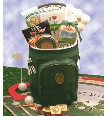 Golfer's Delight Gift Basket, Golfer Gifts of Thanks