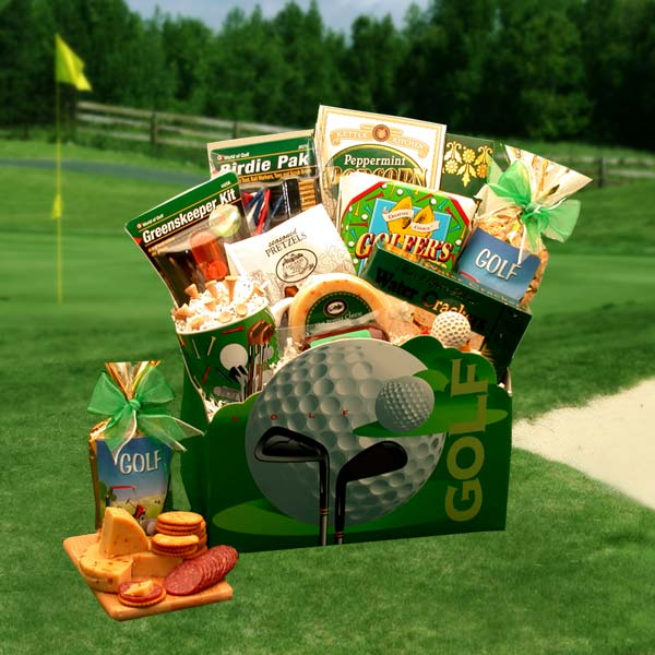 Golfer's Dream Gift Basket, Golfer Gifts of Thanks