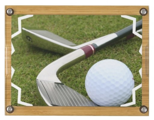 Golfing Cheese Board, Golfer Gifts of Thanks