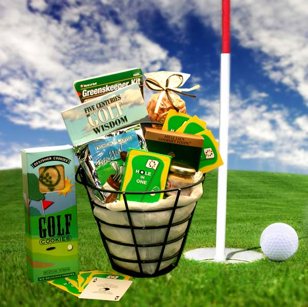 The Golf Caddy Gift Basket, Golfer Gifts of Thanks