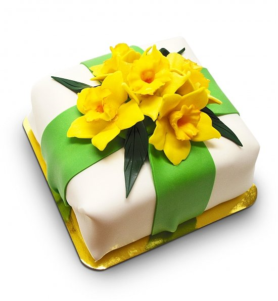 Easter Daffodils Gourmet Cheesecake, Easter Gift