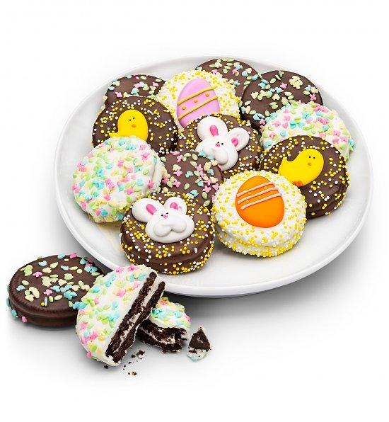 Happy Easter Chocolate Enrobed Oreos, Easter Gifts