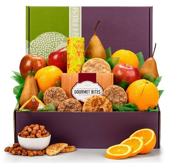 Healthy Choices Fruit Gift, Best Admin Day Gifts