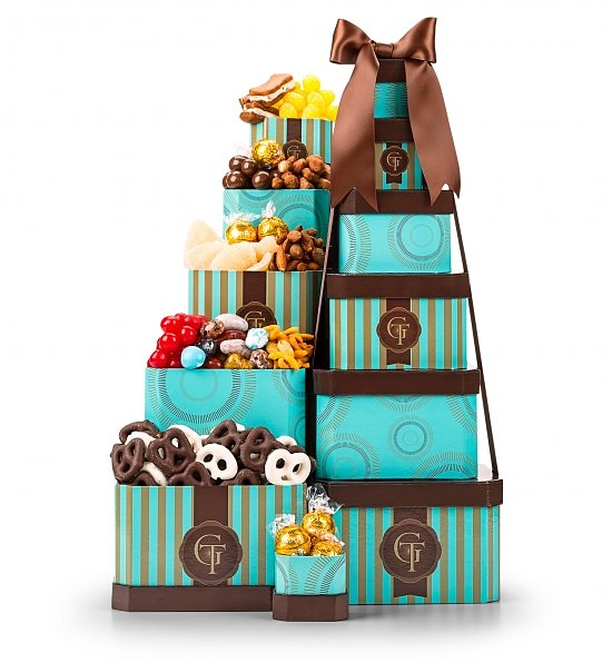 Sweet Gourmet Confections Tower, Best Admin Day Gifts