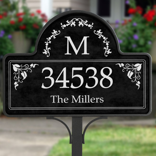 address garden stake