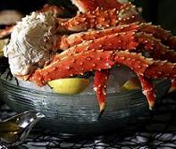 Alaska King Crab Legs, Surf n Turf Dinner Delivered
