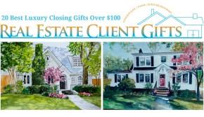 Best Luxury Realtor Closing Gift Ideas Over $100.00