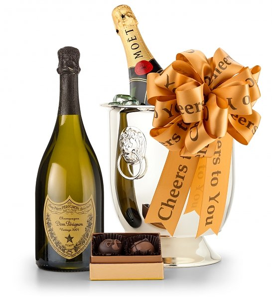 Champagne and Confections, Realtor Closing Gift Ideas Over $100.00