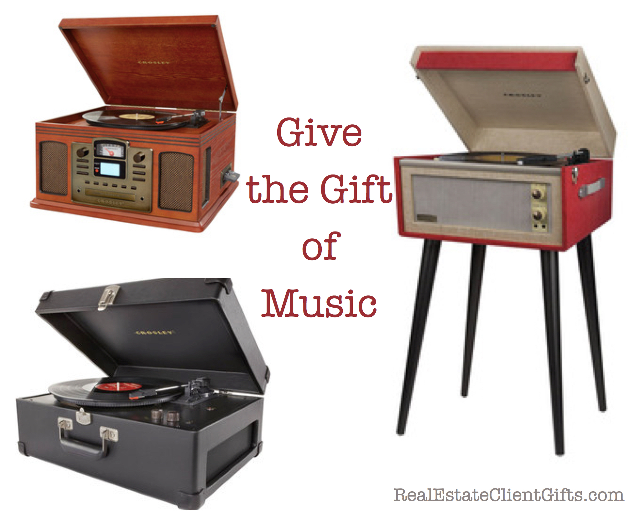 Give The Gift of Music Realtor Closing Gifts, Realtor Closing Gift Ideas Over $100.00