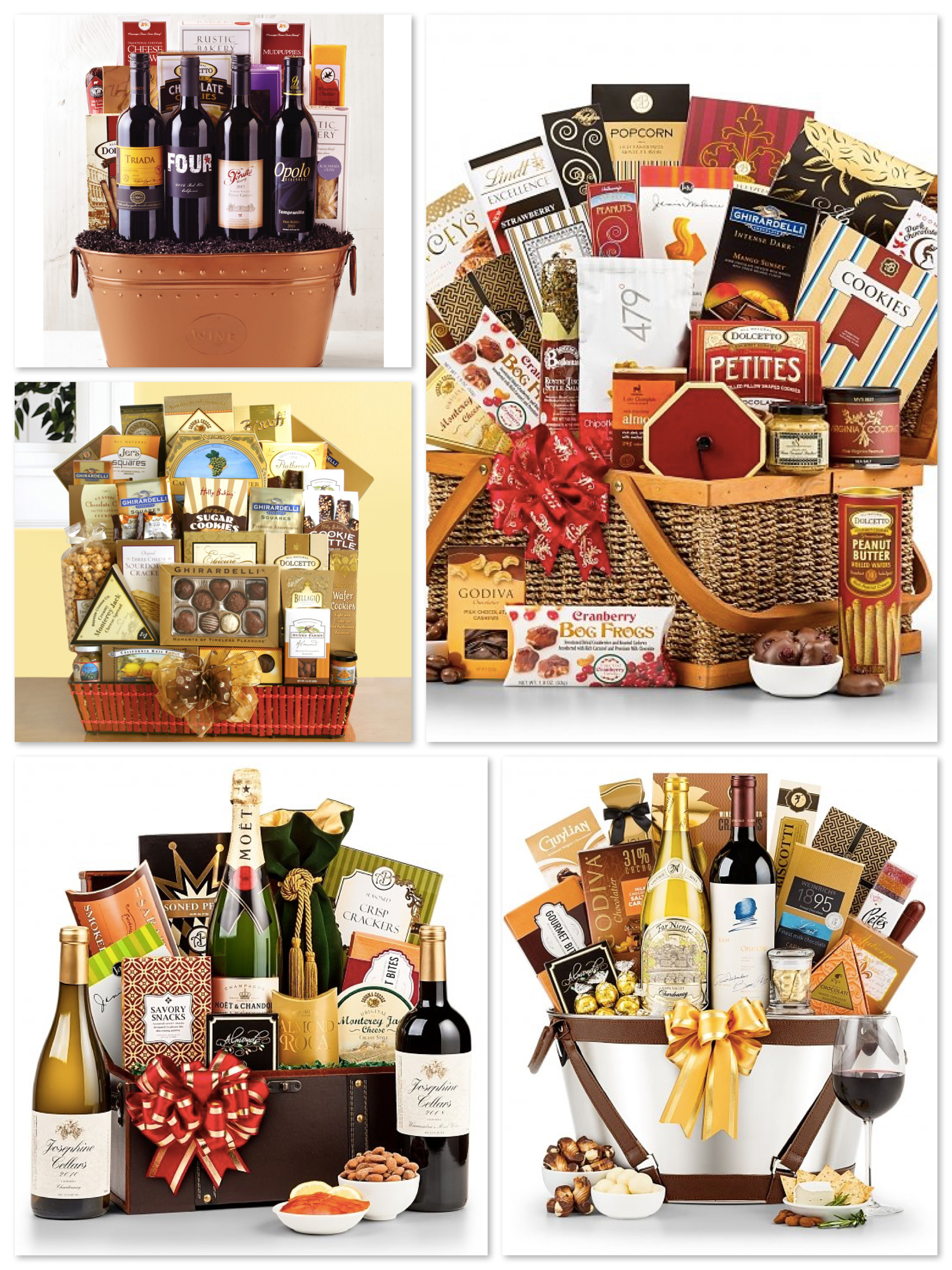 Luxury Gourmet Gift Baskets, Realtor Closing Gift Ideas Over $100.00