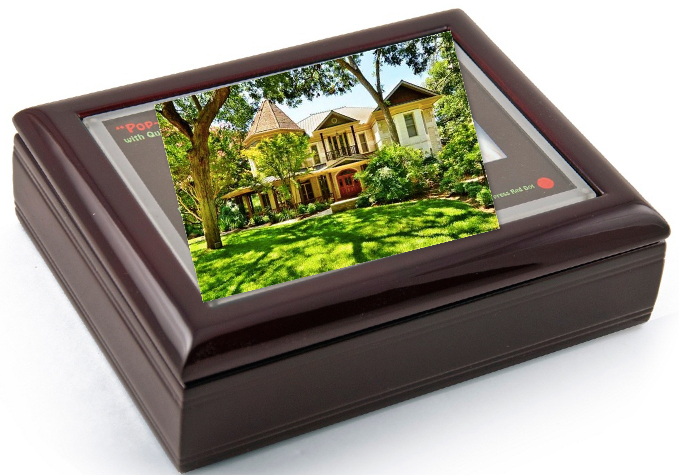 Photo Frame Musical Jewelry Box Realtor Gift, Best Realtor Closing Gift Ideas Over $100.00