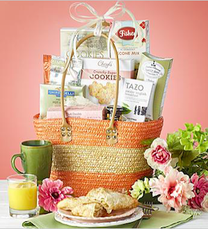 Sunday Brunch Tote Basket