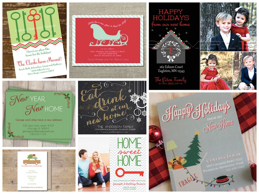 Holiday Moving Cards Realtor Housewarming Gifts