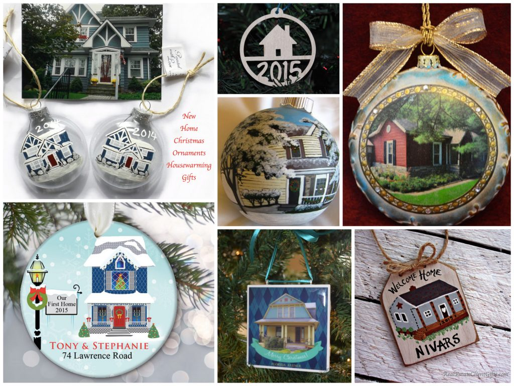 New Home Christmas Ornament Housewarming Realtor Closing Gifts