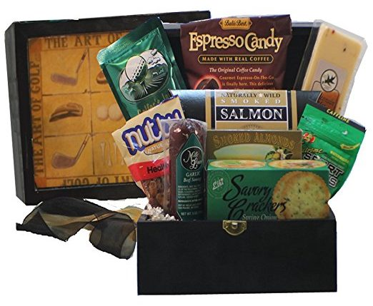 The Art of Golf Gourmet Food Gift Chest