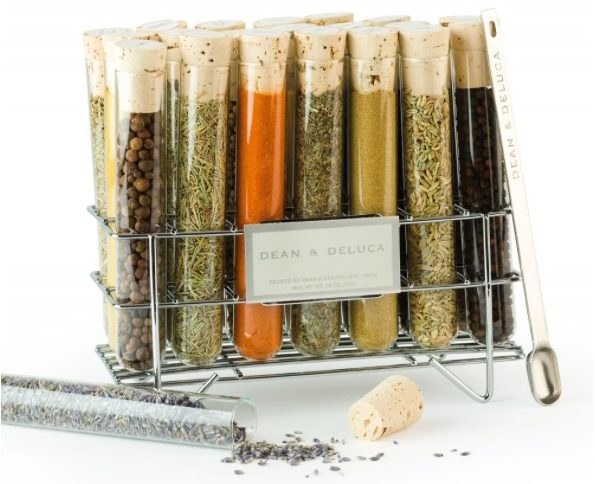 Dean & Deluca Spice Tube Rack, Best Realtor Closing Gift Ideas, Dean & DeLuca Snacks to Share, Gourmet and Fine Food Housewarming Gifts