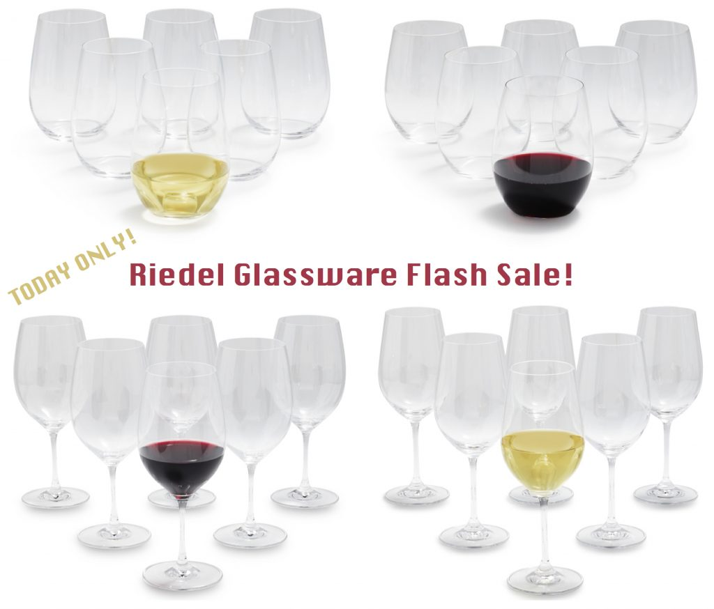 Riedel Wine Glasses Flash Sale